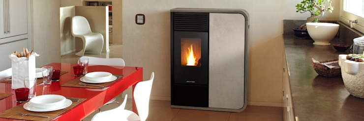 Livings de estilo ecléctico de Biojaq - Comércio e Distribuição de Recuperadores de Calor Lda Ecléctico