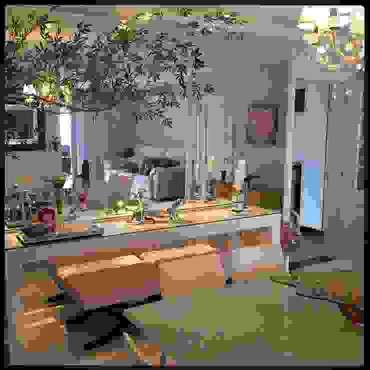 Projeto Villagio Toscana Salas de estar modernas por Coppini & Khauam Arquitetura e Interiores Moderno