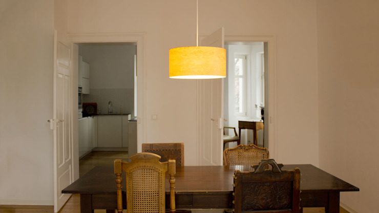raum12 Dining roomLighting Yellow