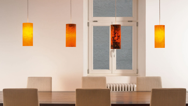 raum12 Dining roomLighting Red