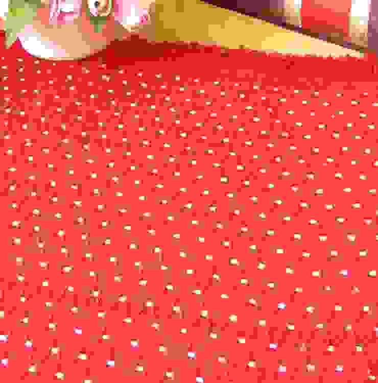 latiendawapa Camera da lettoTessili Cotone Rosso