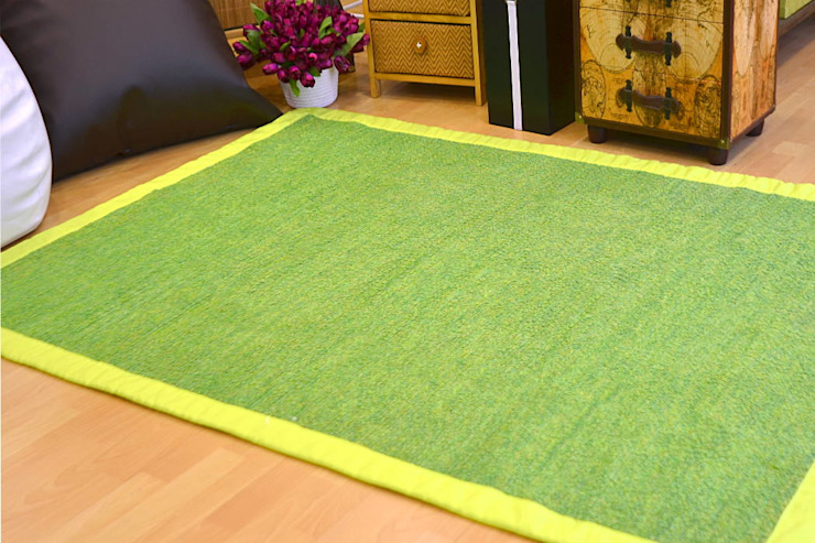latiendawapa Camera da lettoTessili Cotone Verde