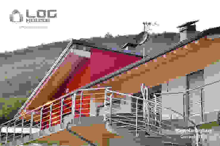 """Il modello """"Nature"""" per una casa in legno """"senza colle"""". LOG HOUSE"""