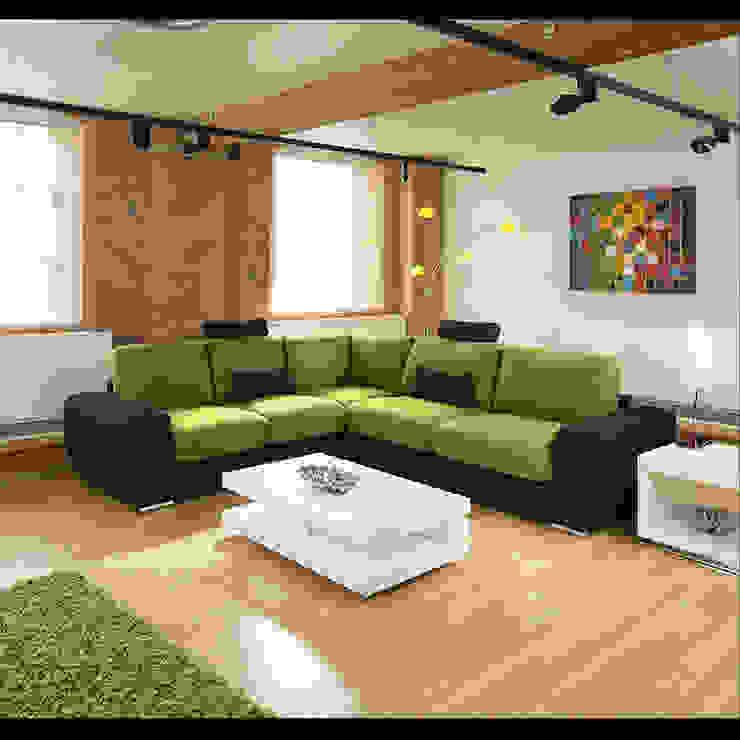 GRANDE 5R Quatropi ltd Moderne Wohnzimmer