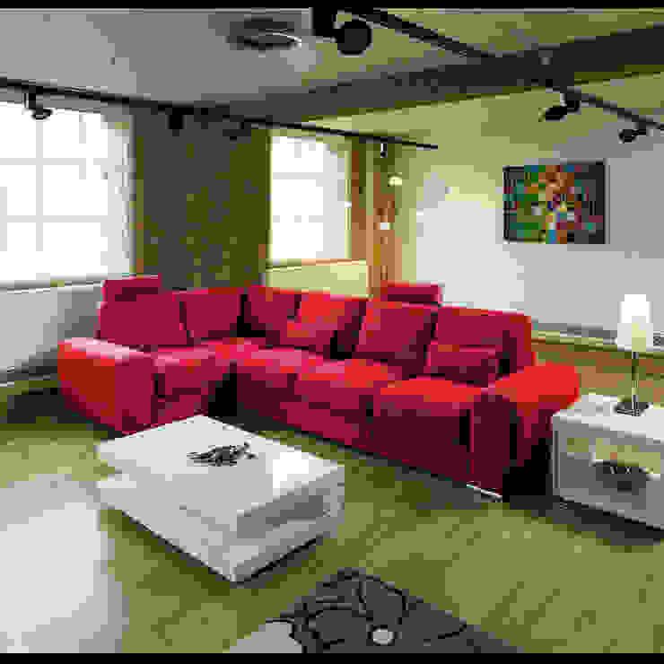 GRANDE 17 Quatropi ltd Moderne Wohnzimmer