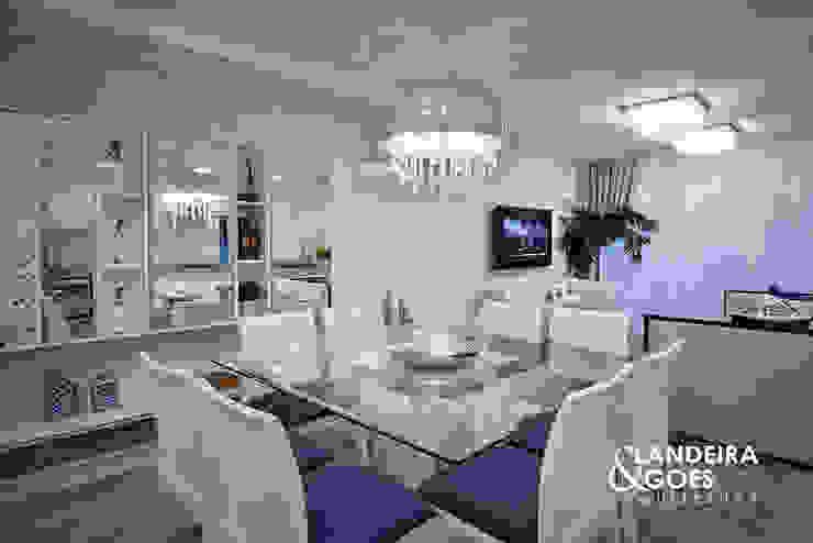 Apartamento Decorado – Balneário Camboriú Salas de jantar modernas por Landeira & Goes Arquitetura Moderno