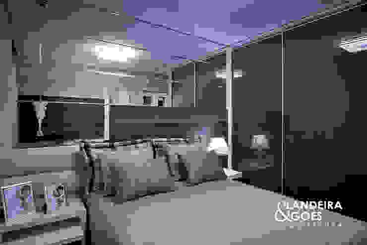 Apartamento Decorado – Balneário Camboriú Quartos modernos por Landeira & Goes Arquitetura Moderno