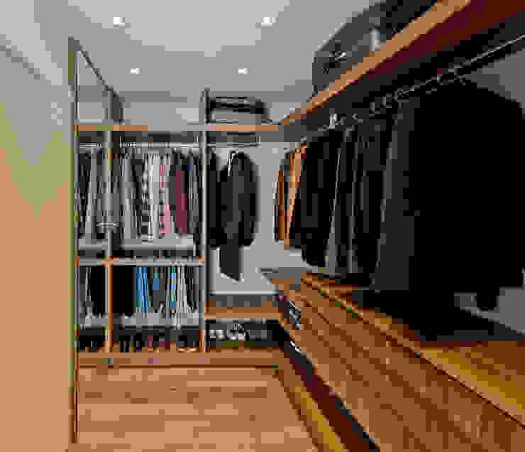 Espaço do Traço arquitetura Modern style dressing rooms