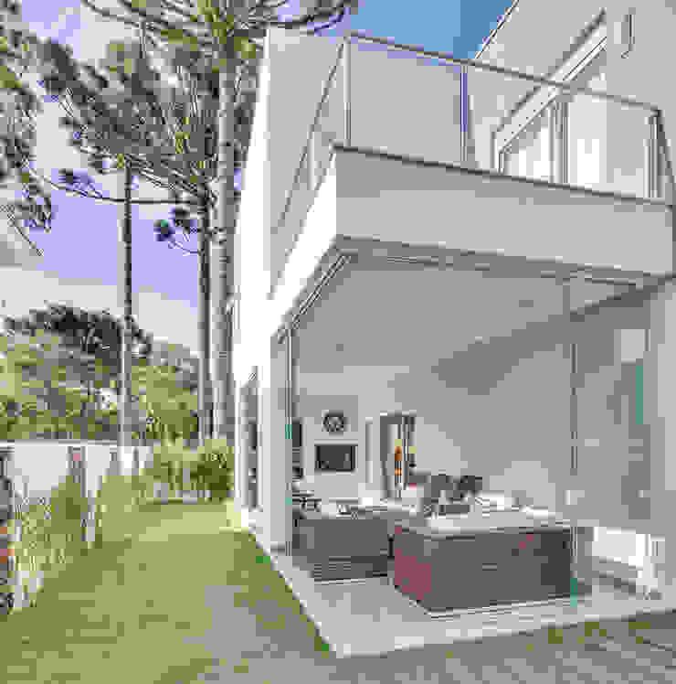 RJR Jardins modernos por Angelica Pecego Arquitetura Moderno