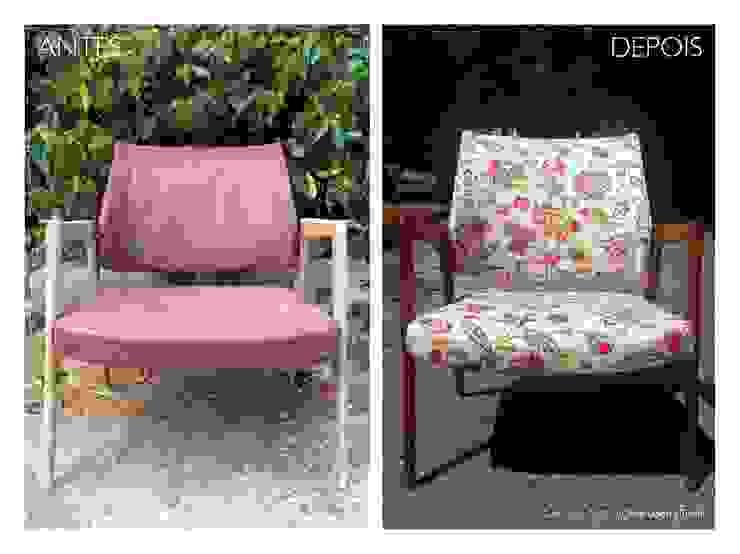 CADEIRA CAPARICA * Antes & Depois por Once Upon a Trash Moderno