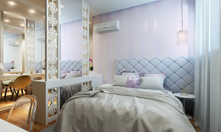 SUÍTE MENINA ♥ Banheiros clássicos por Eliegi Ambrosi Arquitetura e Design de Interiores Clássico