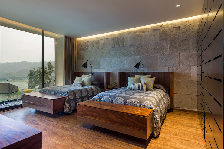 Modern Bedroom by BURO ARQUITECTURA Modern