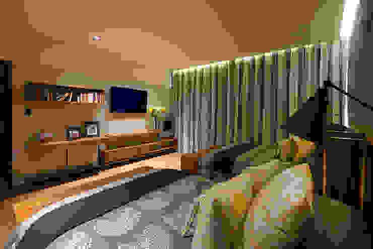 CASA RR BURO ARQUITECTURA Dormitorios modernos