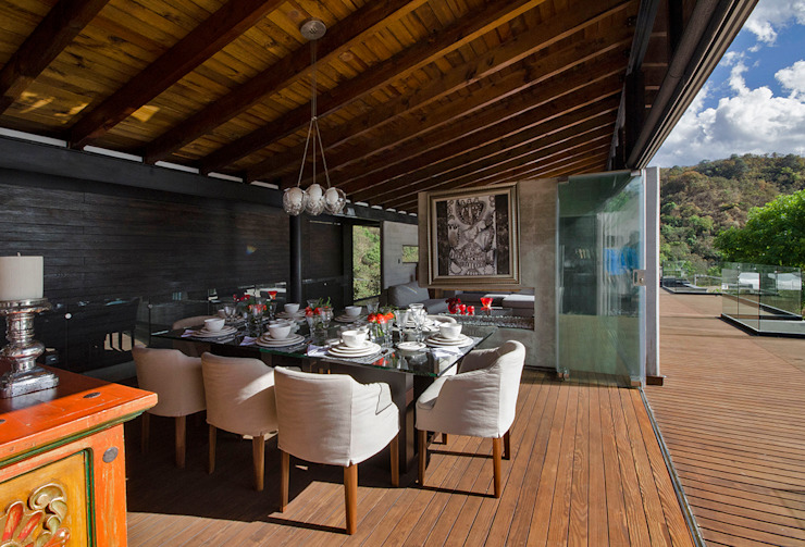 Modern Terrace by BURO ARQUITECTURA Modern