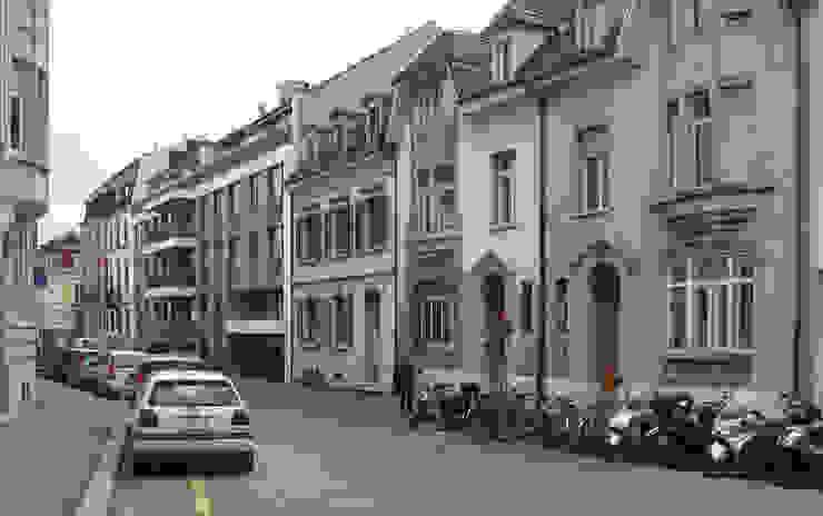 Um- und Ausbau eines Wohngebäudes von 1892, Basel: modern  von Forsberg Architekten AG,Modern