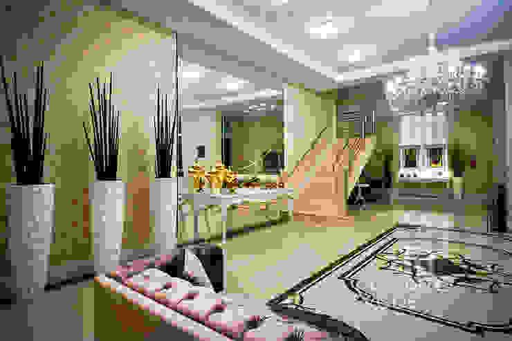 Projeto Corporativo - Itapema-SC Corredores, halls e escadas clássicos por Landeira & Goes Arquitetura Clássico