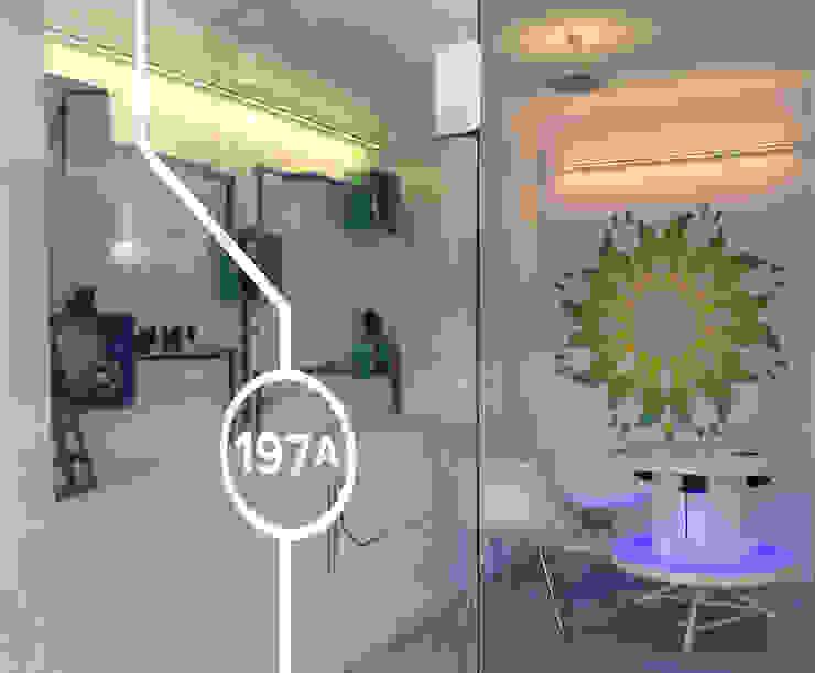 Expositor Lojas e Espaços comerciais modernos por Espaço de Ideias Moderno