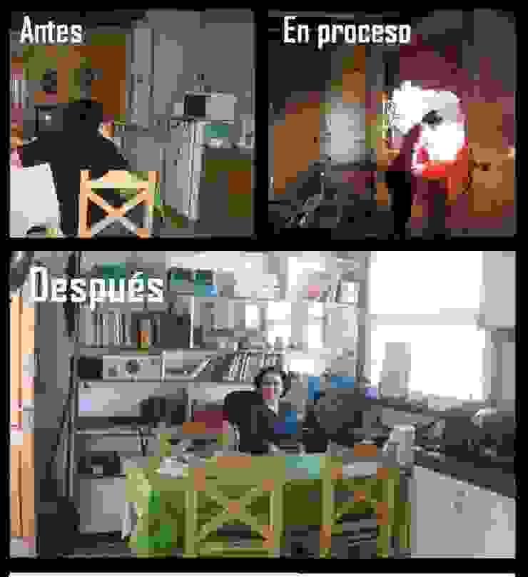 Remodelación comedor Comedores clásicos de Estela Ramírez, arquitecta. Clásico Compuestos de madera y plástico