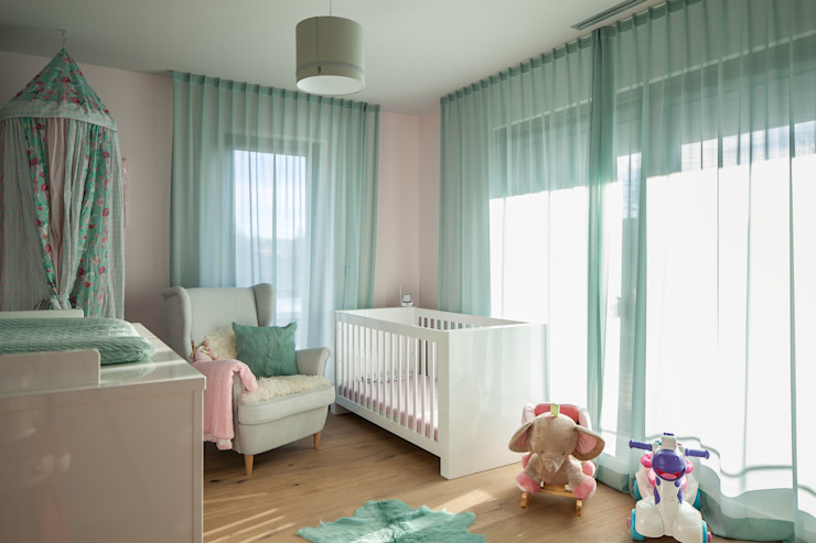 Villa S Moderne Kinderzimmer von BESPOKE GmbH // Interior Design & Production Modern