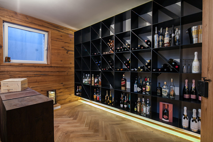 Wine cellar by BESPOKE GmbH // Interior Design & Production, Modern