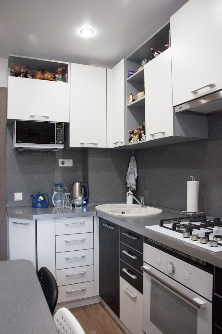 Кухня от Мария Суслова дизайн интерьера & декор Эклектичный