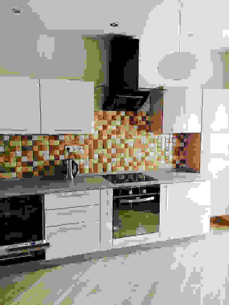 Кухня в ЖК Печера РФ от Мария Суслова дизайн интерьера & декор Эклектичный