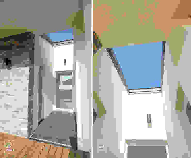 Casas estilo moderno: ideas, arquitectura e imágenes de 로움 건축과 디자인 Moderno