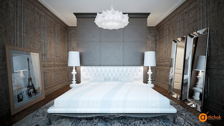 Спальни в . Автор – Art-i-Chok