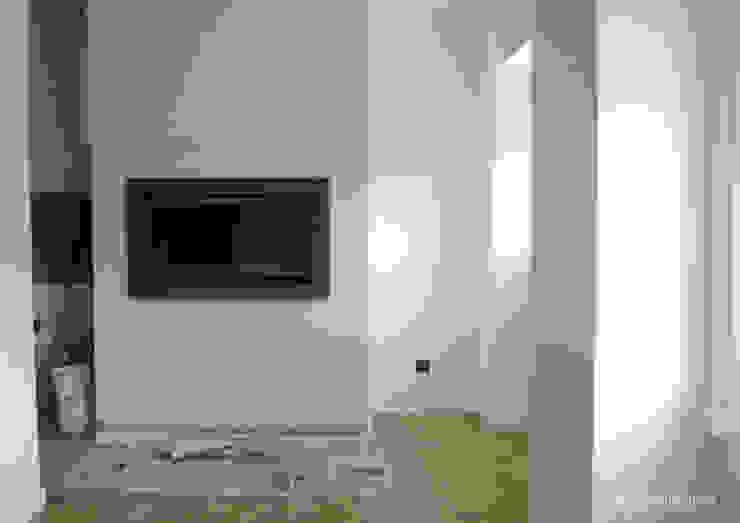 Remodelação de apartamento no Bairro de Alvalade - durante a intervenção por Esfera de Imagens Lda