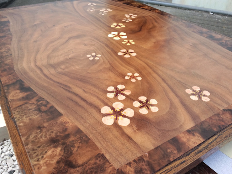 ミニテーブルmomo: 二輪草家具が手掛けた折衷的なです。,オリジナル
