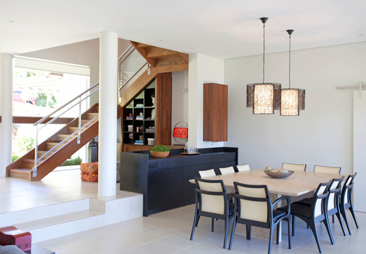 Balcones y terrazas modernos de Samy & Ricky Arquitetura Moderno