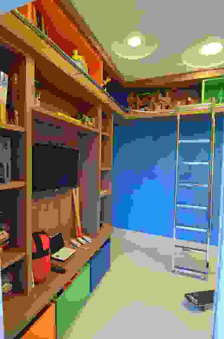 Cabral Arquitetura Ltda. 嬰兒房/兒童房