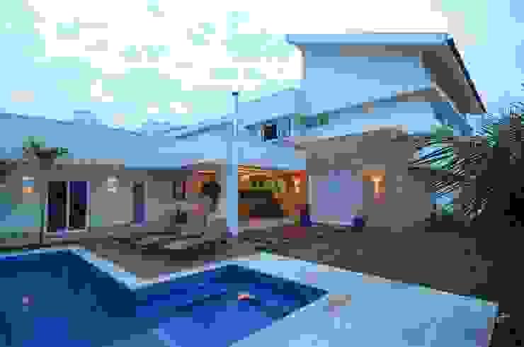 Casas de estilo moderno de Cabral Arquitetura Ltda. Moderno