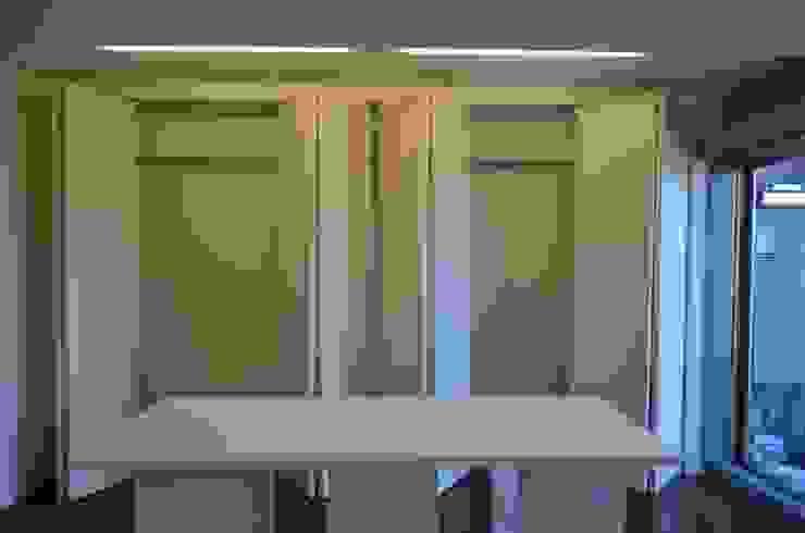 アトリエ モダンデザインの 書斎 の Unico design一級建築士事務所 モダン