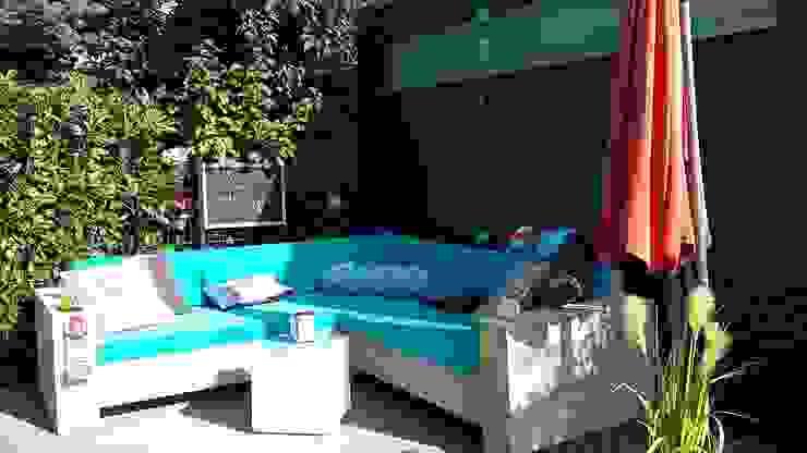 Lounge Ecksofa Berlin aus Bauholz Exklusiv Dutch Design Rustikaler Garten