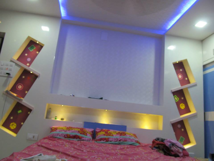 DESIGNER GALAXY Modern style bedroom