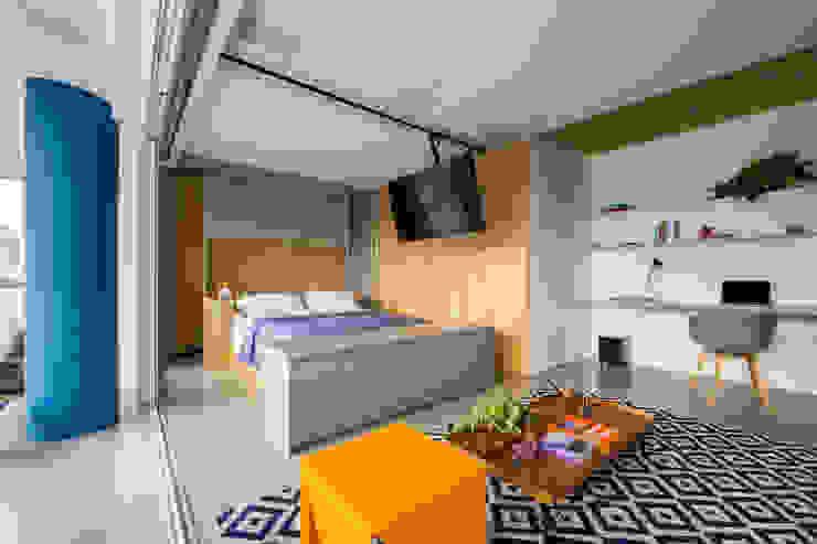 Modern style bedroom by Casa100 Arquitetura Modern