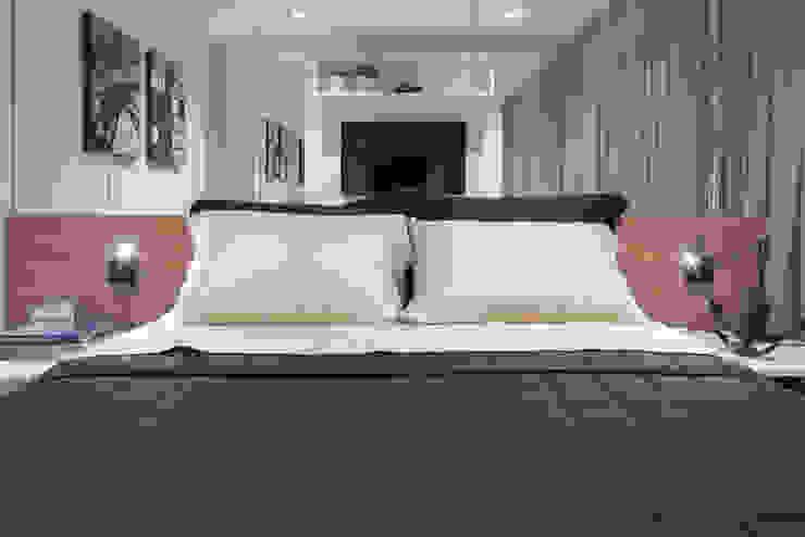 Apartamento HM Quartos modernos por Carpaneda & Nasr Moderno