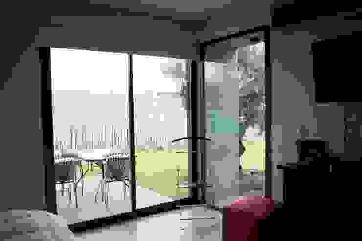 Casa Boedo Dormitorios eclécticos de Bonomo&Crespo Arquitectura Ecléctico