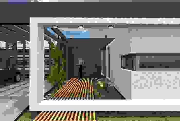 Casa Boedo Puertas y ventanas eclécticas de Bonomo&Crespo Arquitectura Ecléctico
