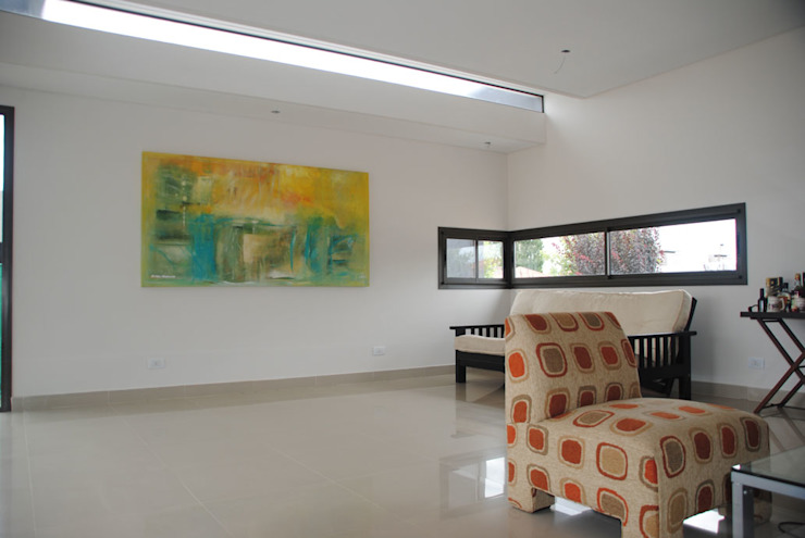 Casa Boedo: Livings de estilo  por Bonomo&Crespo Arquitectura
