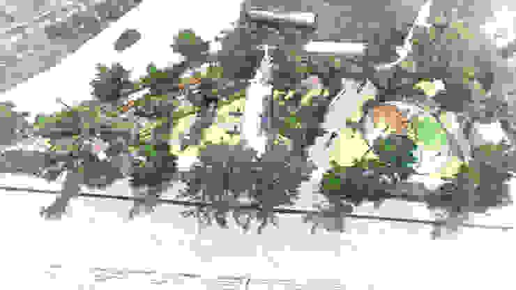 Top View Sketch Drawing Modern Bahçe Kerem Toprakkaya Modern