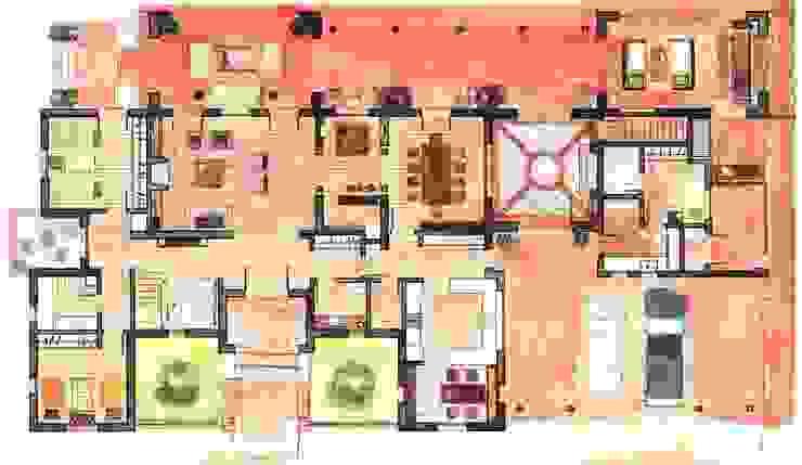 de Aulet & Yaregui Arquitectos Moderno