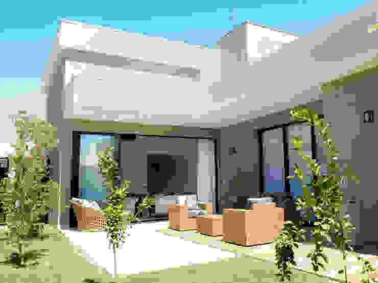 Moderne huizen van Camila Castilho - Arquitetura e Interiores Modern