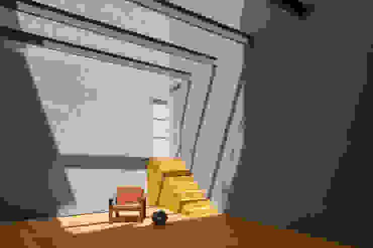 Jardin d'hiver de style  par Pedro Ferreira Architecture Studio Lda, Éclectique Béton