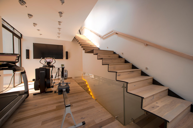 Modern Fitness Odası TW/A Architectural Group Modern
