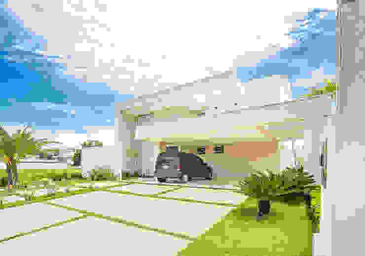 Sobrado Moderno Casas modernas por Camila Castilho - Arquitetura e Interiores Moderno