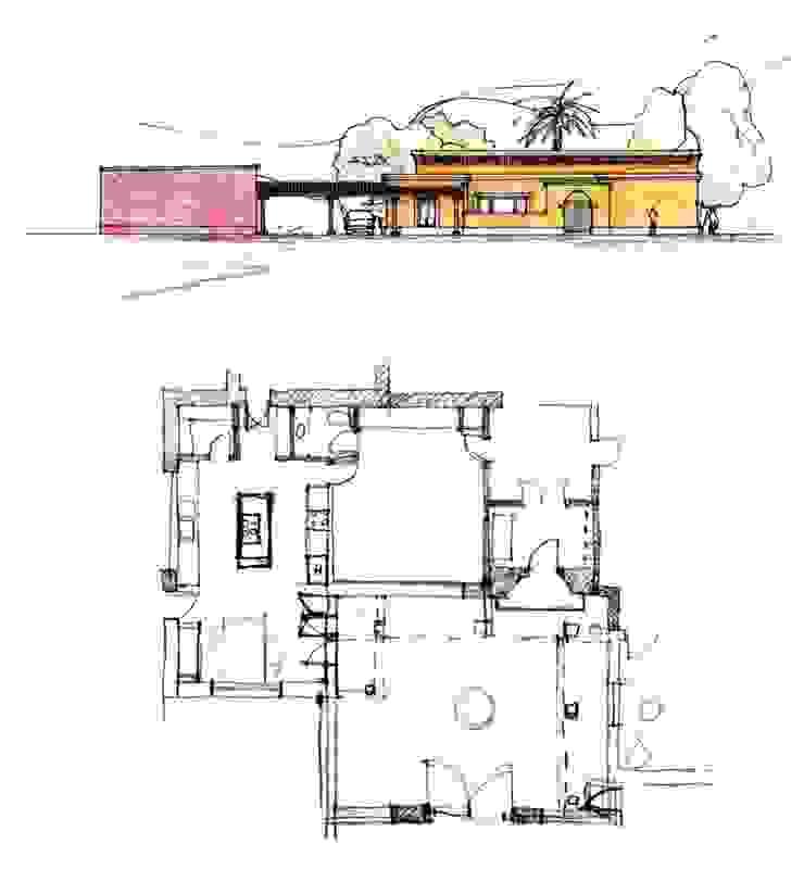 Von Neufforge:  de estilo colonial por Aulet & Yaregui Arquitectos,Colonial