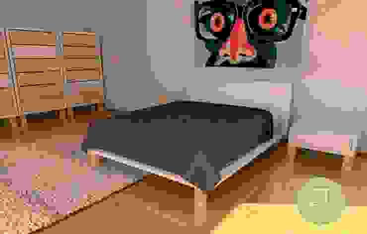 Trabajos de diseño en 3D de ZT . Diseño de mobiliario Moderno