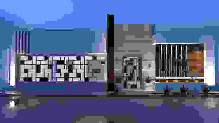 Casas de estilo  por RJ Arquitectos,